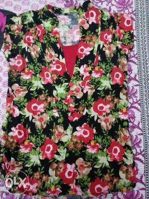 Floral top 2xl - 3xl