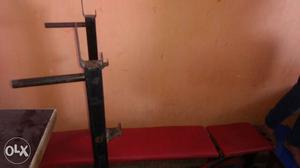 Gym bench for home use very good condition call