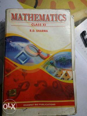 Mathematics Class 11 By R.D. Sharma Textbook