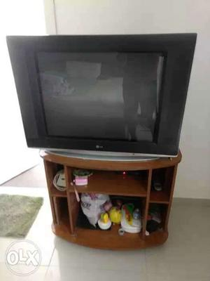 29'' Color TV from LG along with set top box and
