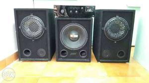 500 Watts Black Audio System