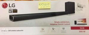 NEW SEALED: LG SH4 2.1 ch 300W wireless SoundBar