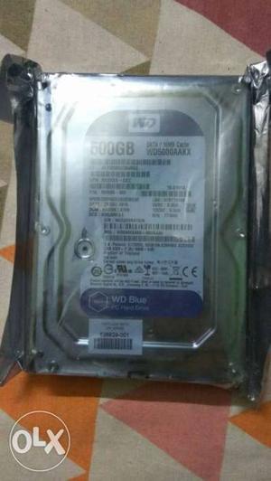 New WD 500 GB internal hard drive With valid warranty seal