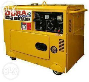 Portable & Silent type Diesel Generator. 3 Kva /5 Kva/7.5