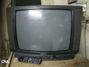 Samsung Tv + Cupboard