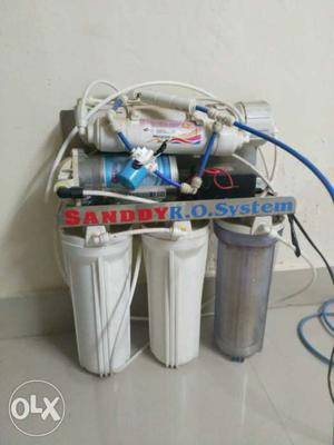 Sandyy RO water purifier, 3 year old. In working