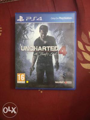 Uncharted 4 for PlayStation 4 PS4 perfect