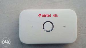 White Airtel 4G Pocket Wifi