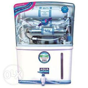 White And Blue Aqua Water Purifier Wholesale Seller Low