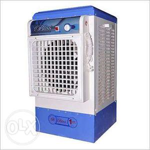 White And Blue Bliss Portable Air Conditioner