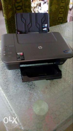 Black HP All In One Printer