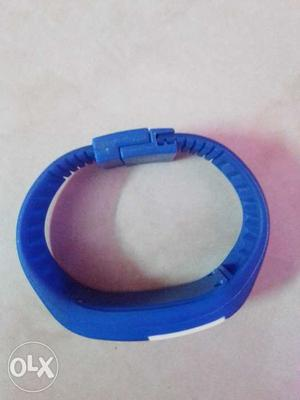 Led wrist watch for boys in blue colour