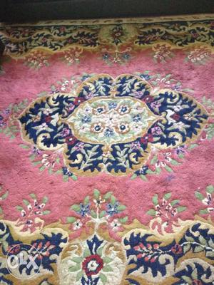 Original kashmiri carpet 8 by 7 which can also be