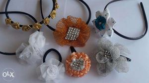 Designer hair clips and hair bands NEW