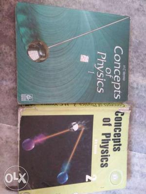 H.C. Verma's concepts of Physics vol 1 and 2