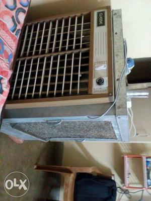 Exhaust fan air cooler, 1 year old.