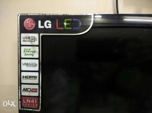 LG LED tv 28inch 1n half hr old.. with original