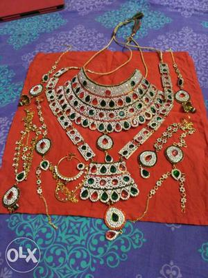 Artificial jewellery for bride, Brand new. any