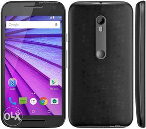Exchang Moto g3 neat condition having box charger