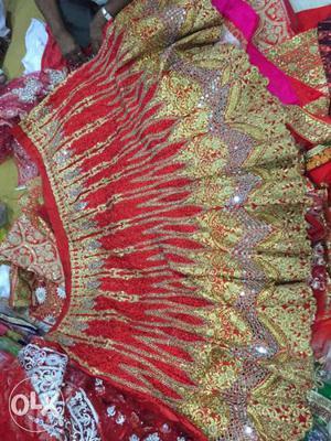Heavy Marriage Chaniya Choli For Marriage Raw