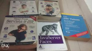 Set of 5 Java programming books at RS .