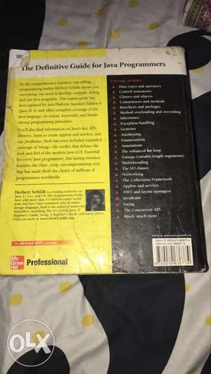 Unused Java Seventh Edition by Herbert Schildt