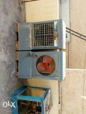 Air cooler, in heavy body working condition,