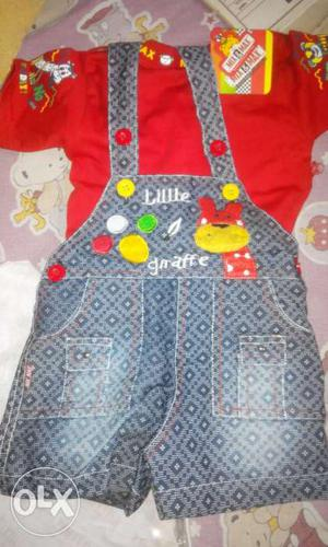 Branded kids wear available at half rates...as