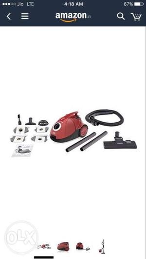 Eureka Forbes Quick Clean DX -Watt Vacuum