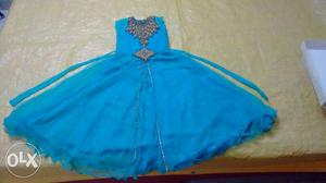 Frock 7-8 yr old kid special occasion wear 1 time