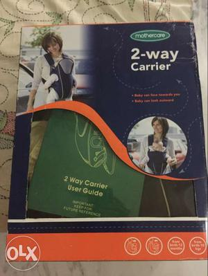 Mothercare 2 way baby carrier. this is brand new