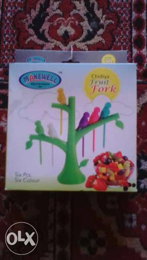 New fruit fork.For more such items interested ppl