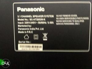 Panasonic SC-HT20GW-K 2.1 Channel Speaker (Black)
