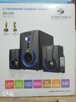 Zebronics 2.1 multimedia Speakers with warrenty