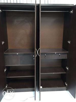 Both Storage 4 door wardrobe.