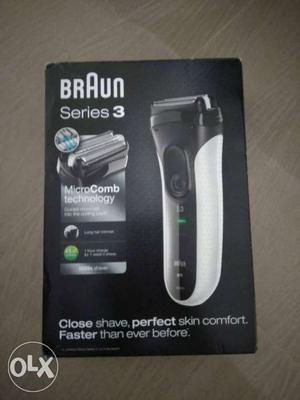 Brand new Braun shaver series 3, with 2 year warranty an