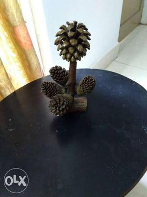 Brown Acorn Table Decor