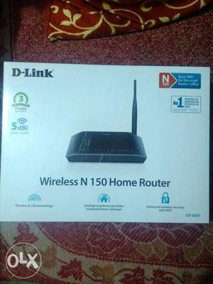 D-link Wireless N 150 Home Router Box