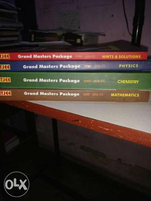 Four Grand Masters Package Books  FIITJEE with solution