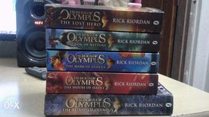 Heroes of olympus series book set