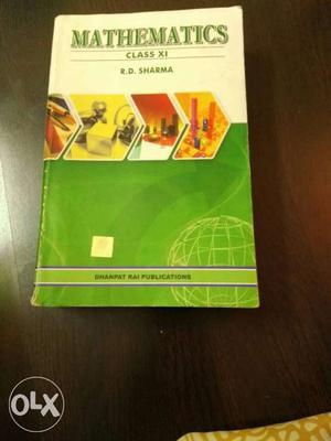 Mathematics Class XI By R.D. Sharma
