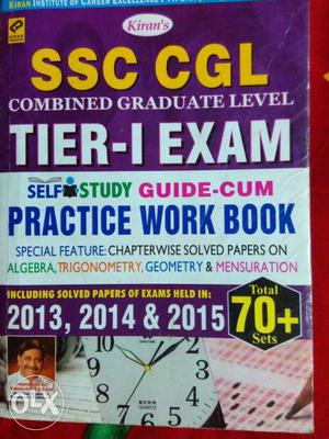 Practice set for SSC CGL exam printed MRP 798 in