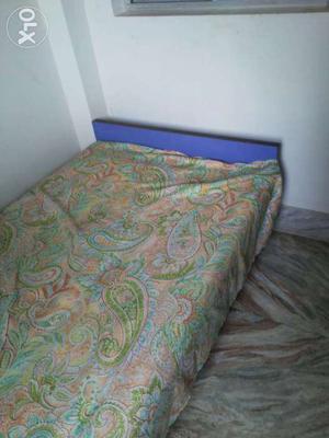 Segun wood double bed just hurryup mob.