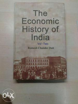 The Economic History Of India Book