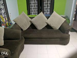 3+1+1 sofa set for sell. 1 and half years old.