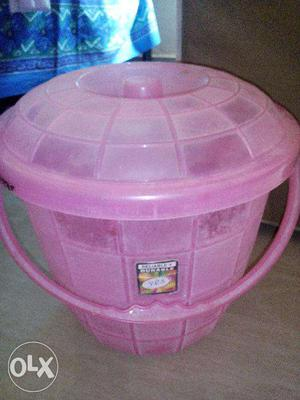 Best quality Plastic bucket (with lid/ without lid)