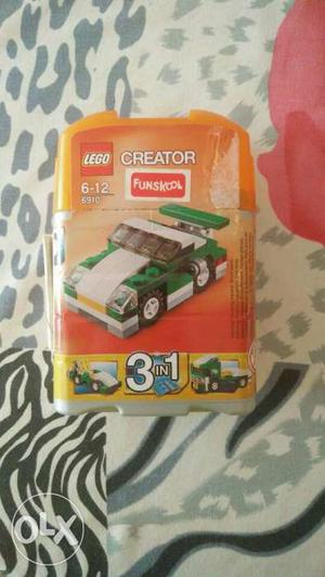 3 in 1 lego car kit. Good condition. Manual included. For