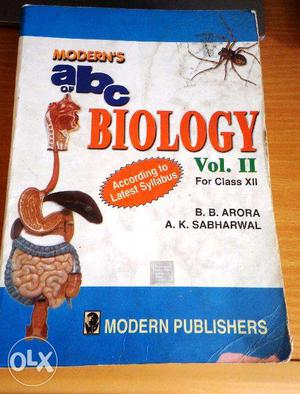 ABC Biology book in excellent condition