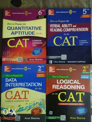 Arun sharma books for CAT, MAT, XAT, GMAT, GRE,