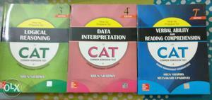 Cat preparation books Arun Sharma  Edition